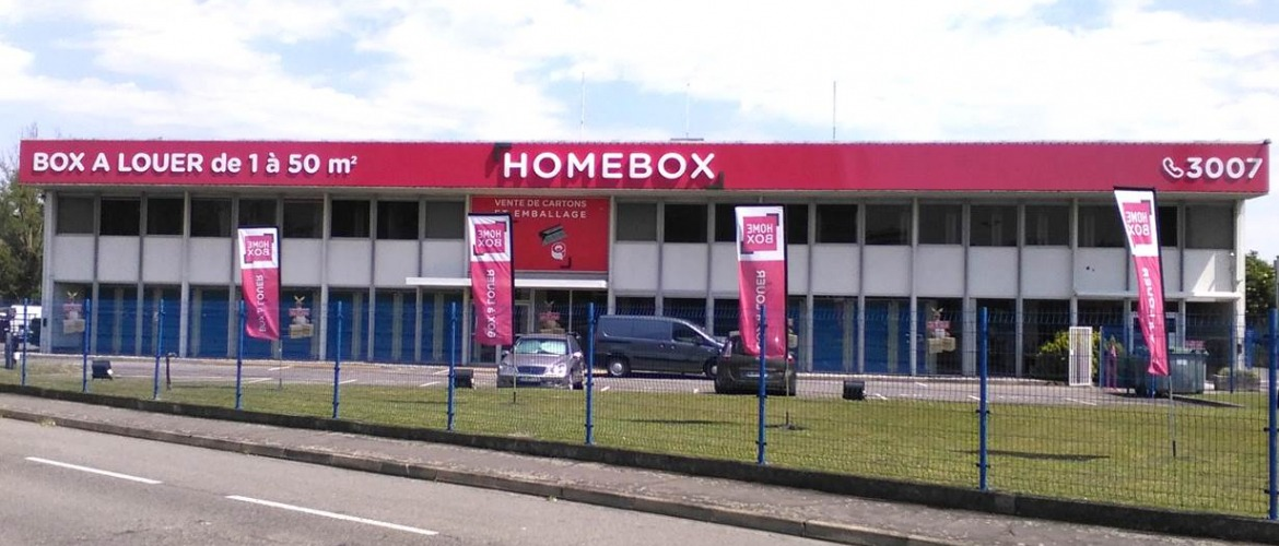 Garde meuble toulouse babinet location de box homebox for Location garde meuble toulouse